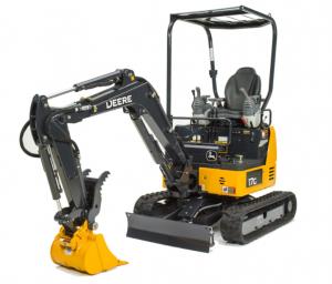 John Deere 17G mini excavator