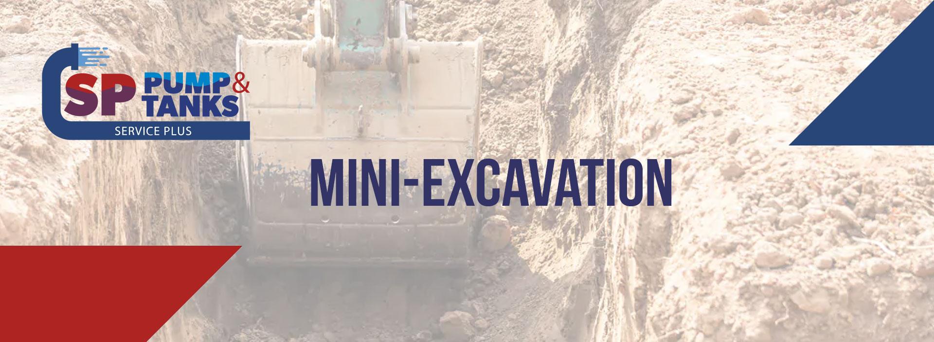 mini-excavation service