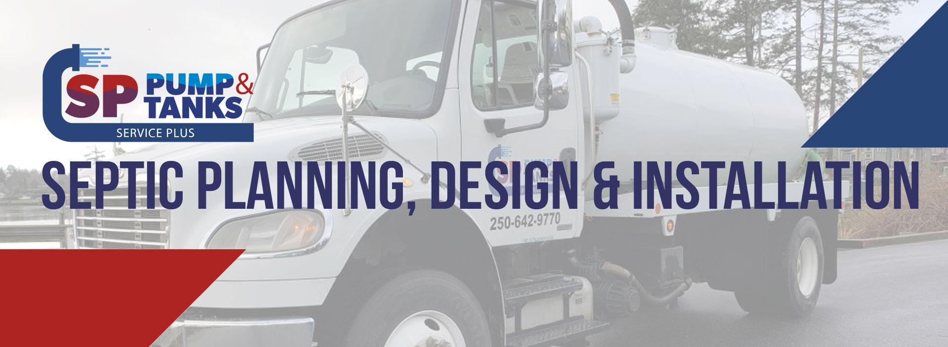 septic planning design installation